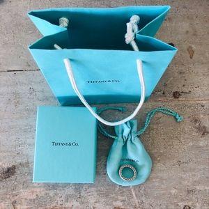 ❤️ Tiffany & Co. ❤️ Somerset Mesh Ring LIKE NEW